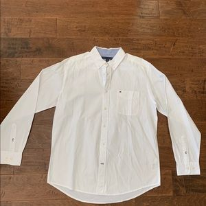 Tommy Hilfiger White Button-Up